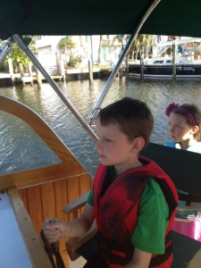 CamDrivingChip'sBoat