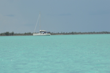 Anchorage at Great Sale Cay